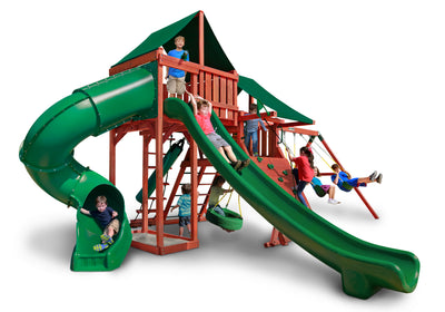 Gorilla Playsets Sun Climber Deluxe Swing Set - Swing Set Paradise