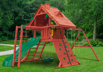 Gorilla Playsets Sun Palace II Swing Set (01-0013)