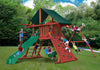 Gorilla Playsets Sun Climber I Canvas Forest Green Swing Set Kids