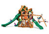 Gorilla Playsets Great Skye II Malibu Wood Roof Swing Set - Swing Set Paradise