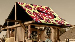 Lady Bugs Custom Graphic Tarp