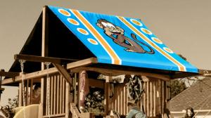 Monkey Custom Graphic Tarp
