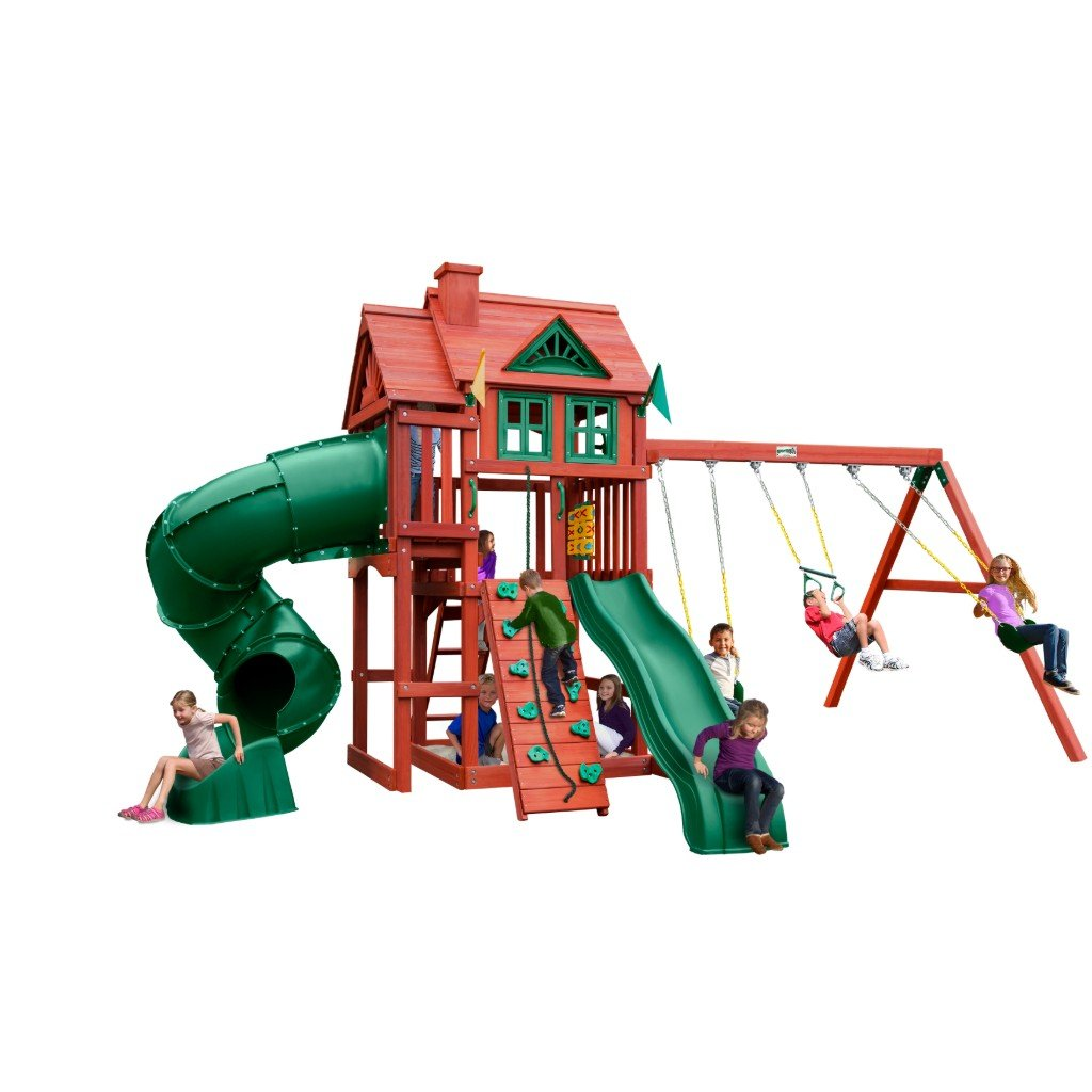 Nantucket Deluxe Swing Set Main