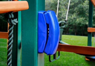 Play Phone on Swing Set