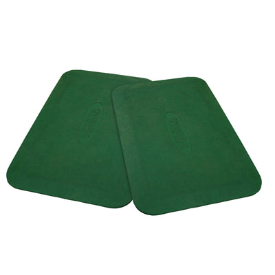 Protective Rubber Mats comes in Pair (Available in Red & Green) - Swing Set Paradise