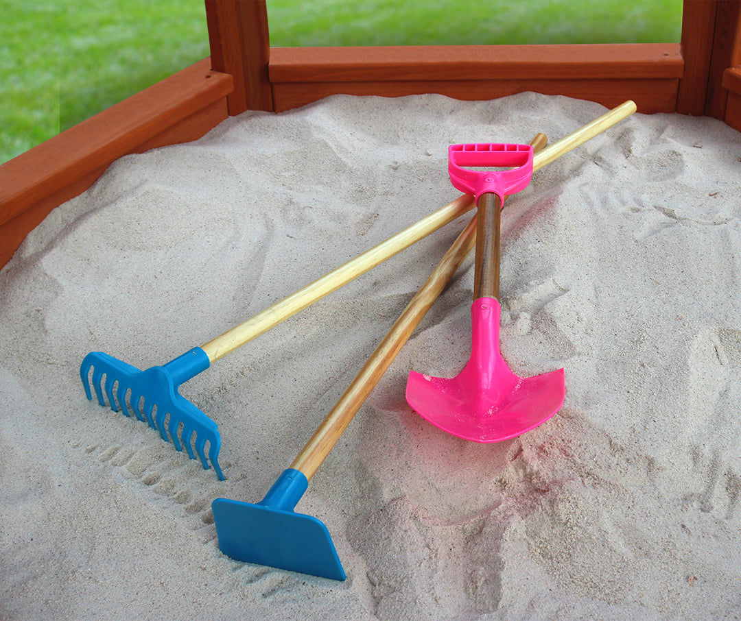 Sandbox Tool Kit - Swing Set Paradise