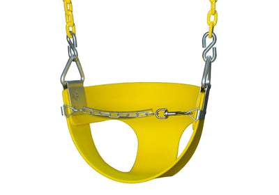 Half Bucket Toddler Swing - Swing Set Paradise