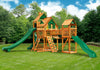 Gorilla Playsets Treasure Trove II Treehouse Swing Set