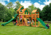 Gorilla Playsets Treasure Trove II Treehouse Swing Set - Swing Set Paradise