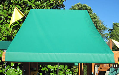 Custom Vinyl Canopies and Tarps - Swing Set Paradise