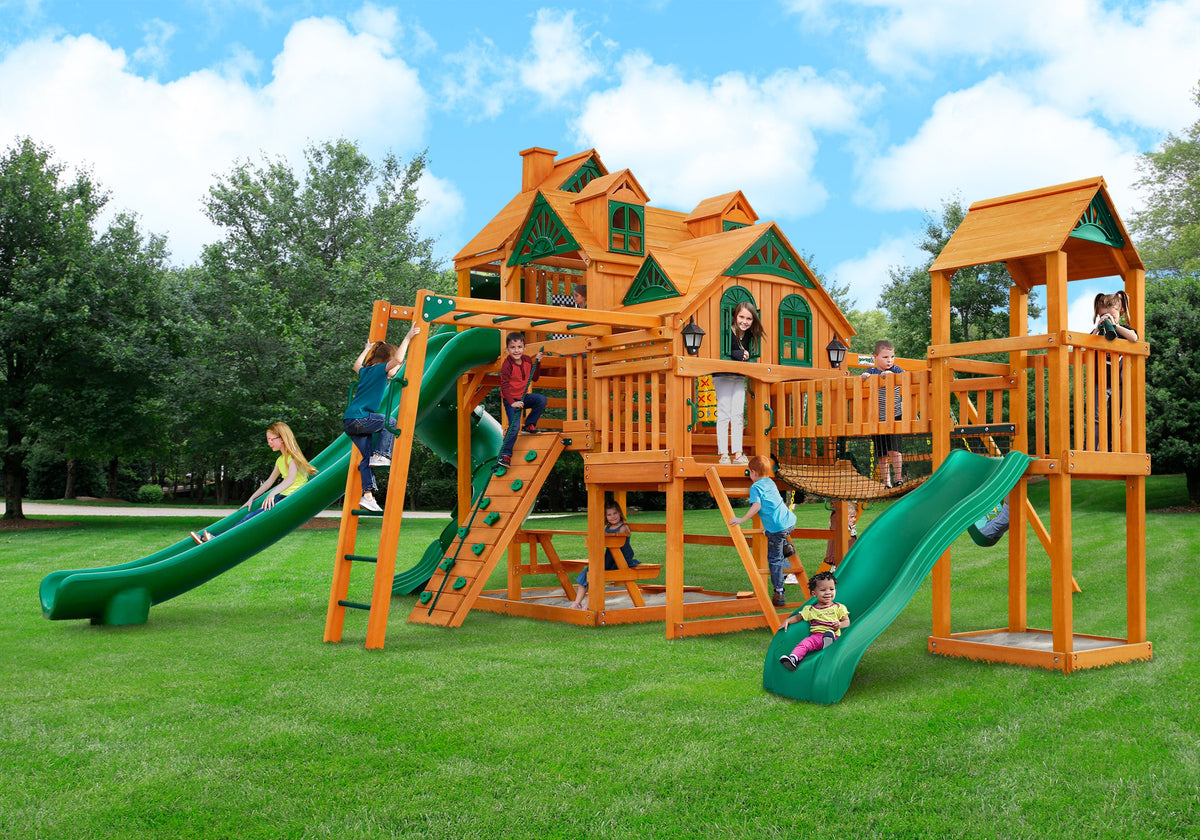 Gorilla Playsets Empire Extreme Swing Set - Swing Set Paradise