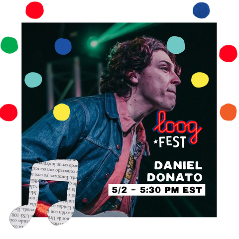 Daniel Donato on Loog Fest