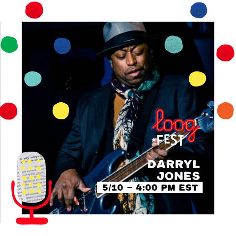 Darryl Jones on Loog Fest