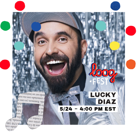 Lucky Diaz in LoogFest