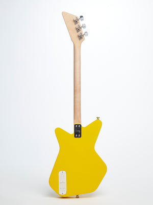 Loog Pro Electric guitar for kids - Yellow - Back
