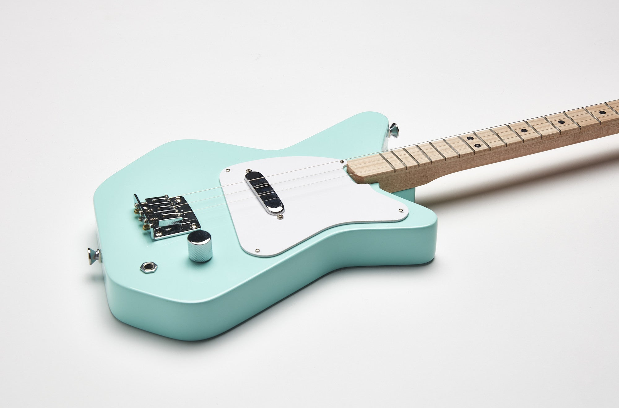 Loog Pro Electric guitar for kids - Green - Detail