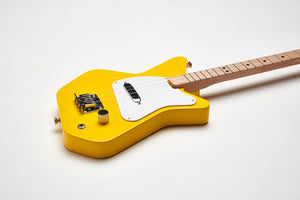 Loog Pro Electric guitar for kids - Yellow - Detail