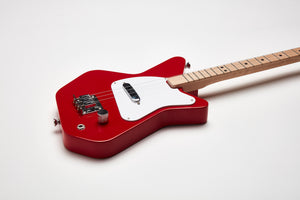 Loog Pro Electric guitar for kids - Red - Detail
