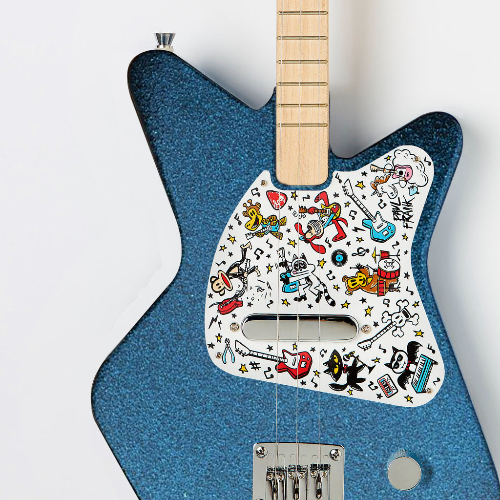 Loog Pro Electric Guitar Paul Frank Edition