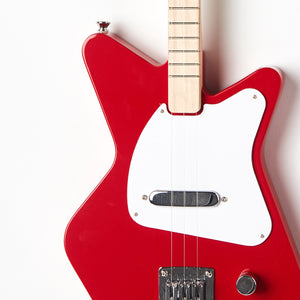 Loog Pro Electric guitar for kids - Red - Body Closeup
