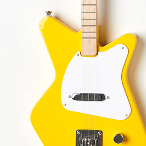Loog Pro Electric guitar for kids - Yellow - Body Closeup