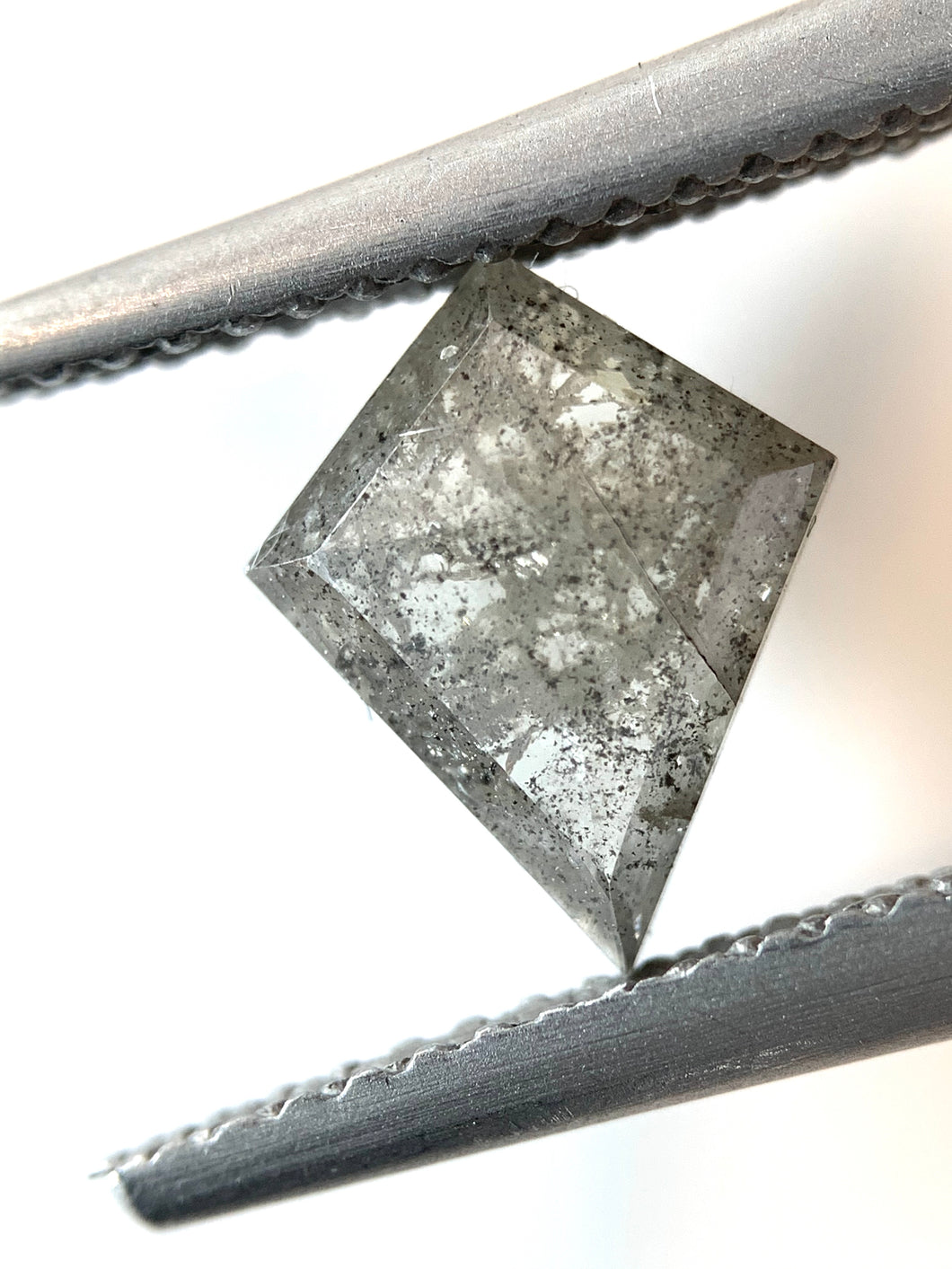 1.03ct Kite Cut Salt and Pepper Diamond