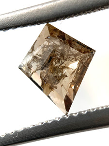 .70ct Kite Cut Salt and Pepper Diamond