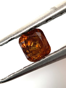 .26ct Cushion Cut Fancy Intense Orange