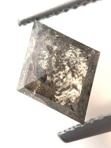 1.33ct Kite Cut Salt and Pepper Diamond