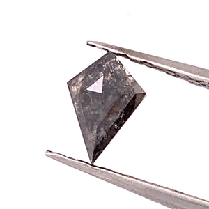 1.3ct Kite Cut Salt and Pepper Diamond