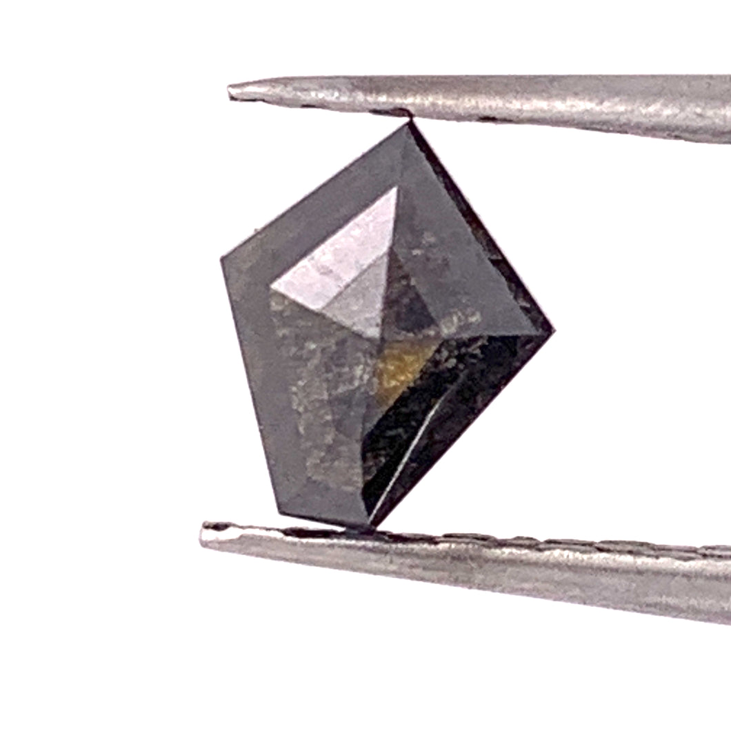 .99ct Kite Cut Salt and Pepper Diamond