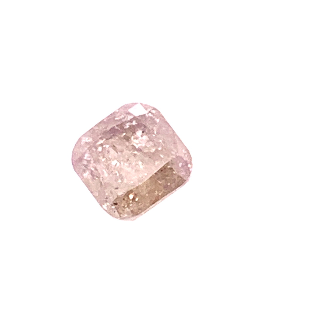 1.19ct Nutmeg Brown Cushion Cut Salt and Pepper Diamond
