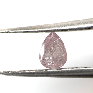 .29ct Pear Cut NATURAL PINK Salt and Pepper Diamond