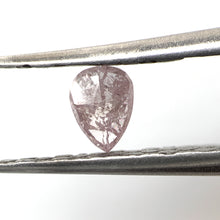 Load image into Gallery viewer, .29ct Pear Cut NATURAL PINK Salt and Pepper Diamond