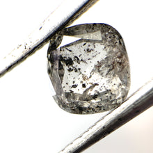 Load image into Gallery viewer, 1.37ct Cushion Cut Salt and Pepper Diamond