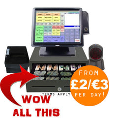 Cash Register & EPOS System Rental & Leasing - available from Anchor Data Systems, Belfast, Northern Ireland