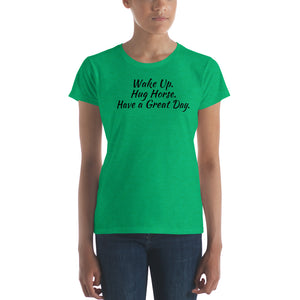 "Women's ""Wake Up"" Short Sleeve T-shirt"