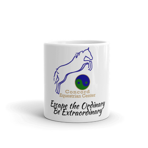 "CEC ""No Ordinary"" Coffee or Tea Mug - Concord Equestrian Center"