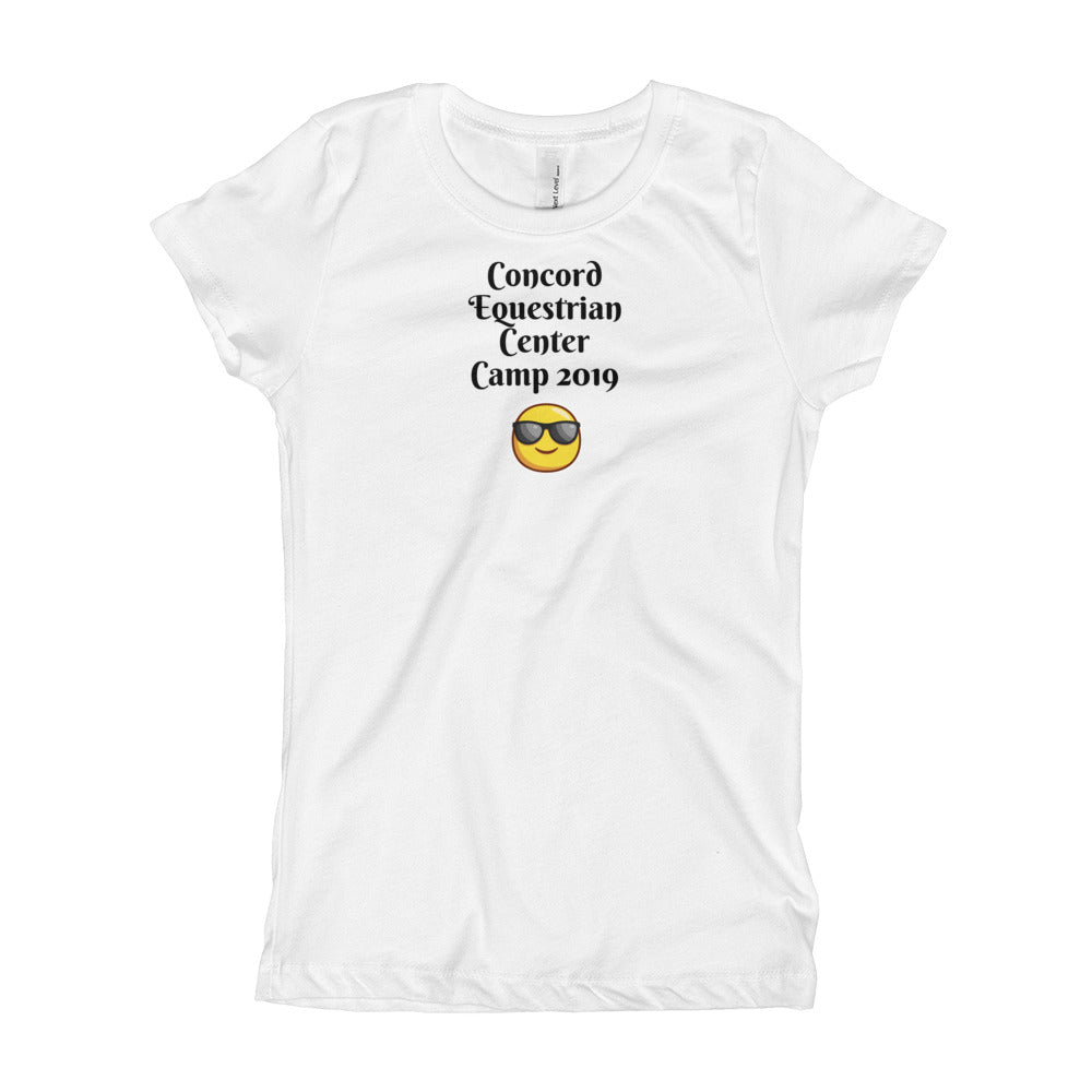 Girl's Concord Summer Camp T-Shirt - Concord Equestrian Center
