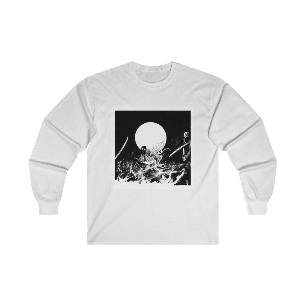 """Book of Fire"" Long Sleeve Tee (+ Digital Download) - Backhouse Merch & More"