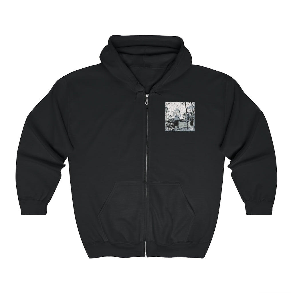 """Stories from the Back"" Zip Up Hoodie (+ Digital Download) - Backhouse Merch & More"