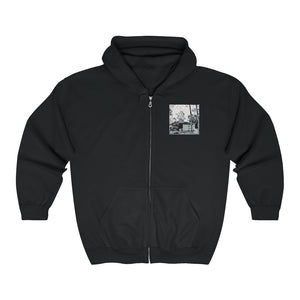 """Stories from the Back"" Zip Up Hoodie (+ Digital Download)"