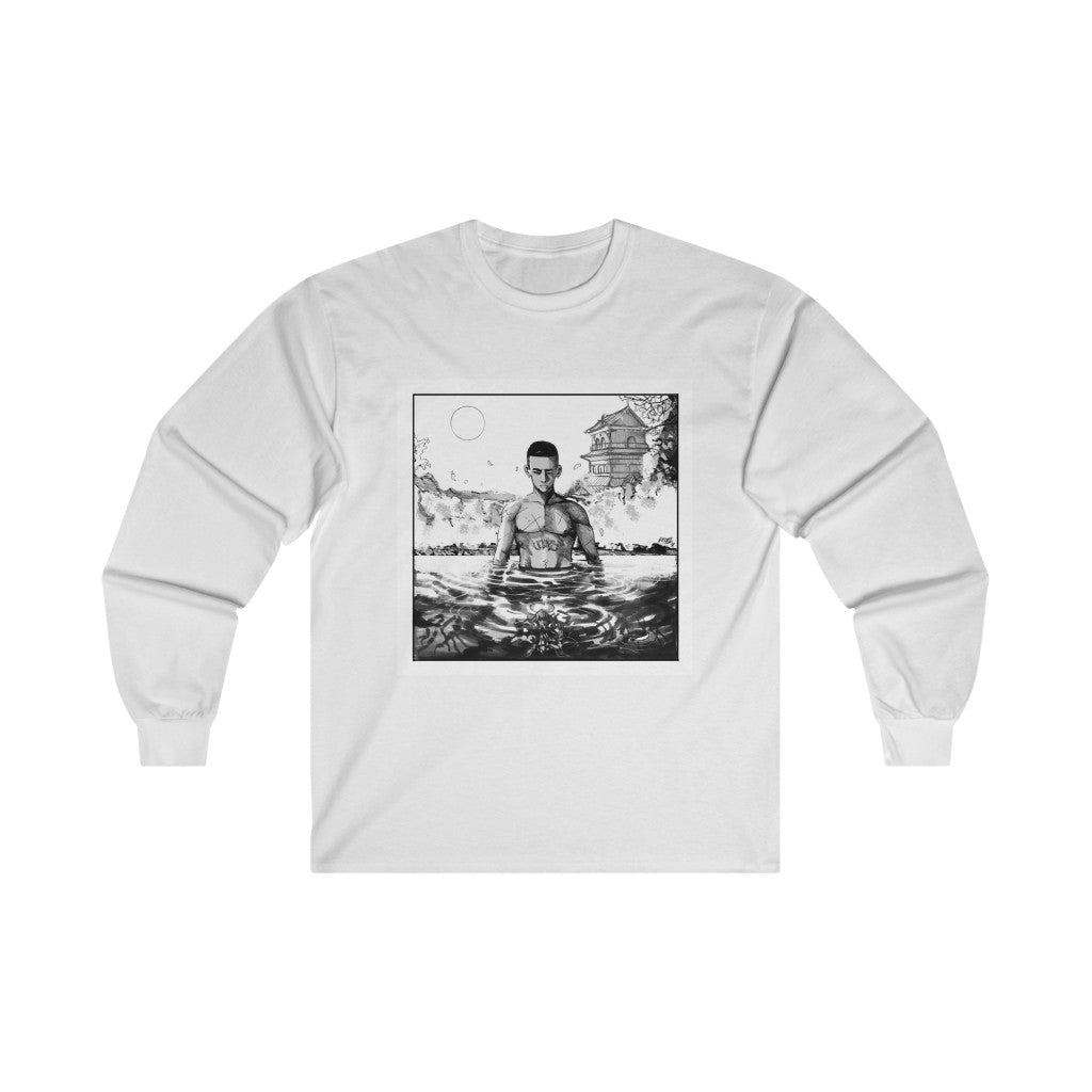 """Book of Water"" Long Sleeve Tee (+ Digital Download) - Backhouse Music"