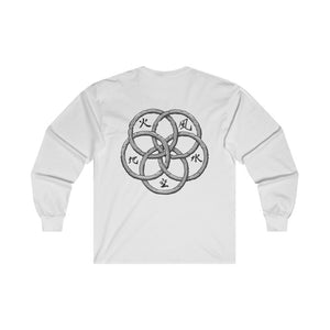 """Book of Wind"" Long Sleeve Tee (+ Digital Download) - Backhouse Merch & More"