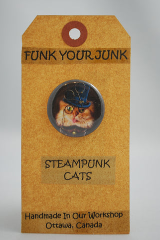 Buttons With Steampunk