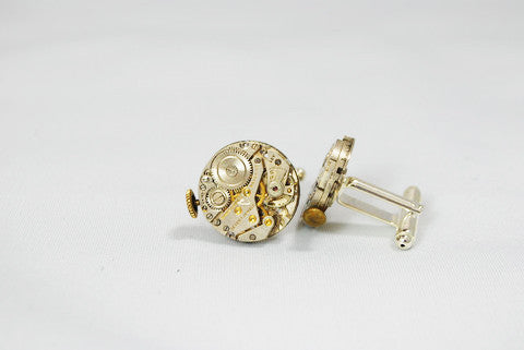 Steampunk Style Cuff Links