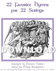 22 Favorite Hymns for 22 Strings - Digital Download
