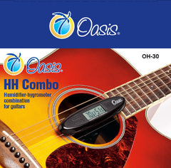 Oasis® Humidifier-hygrometer Combo for Guitars