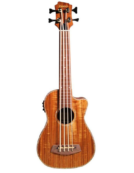 Denver Ukulele Bass Acacia w/bag