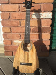 Spalted Mango Tiny Tenor Ukulele - Gently Used